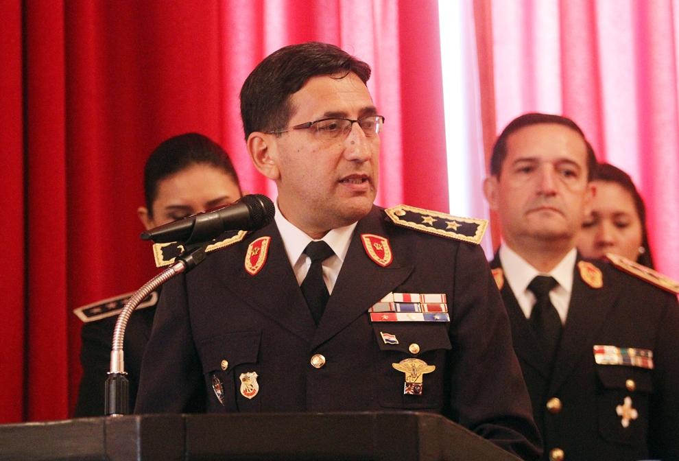 Comandante de la Policía Nacional, Críspulo Sotelo destaca trabajos realizados en Ybycuí