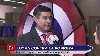 Ministro Héctor Cárdenas sobre trabajos del Programa Tekoporã