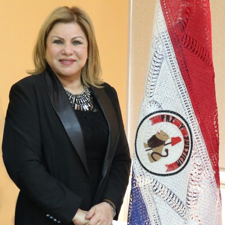 Ministra de la Mujer Nilda Romero