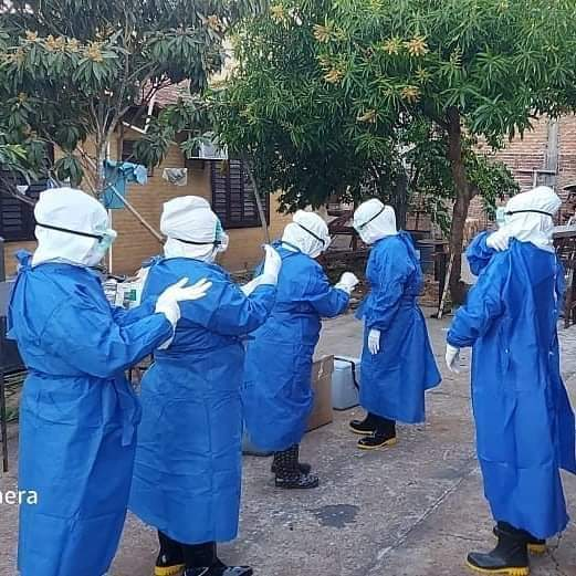Varios distritos de Ñeembucú registran alto cantidad de casos de COVID en los últimos tiempos