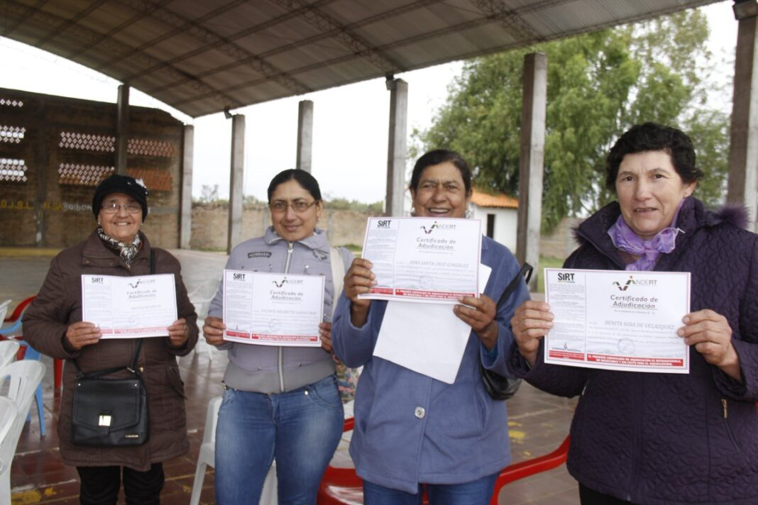 INDERT prevé entregar 200 títulos a colonos en Ñeembucú